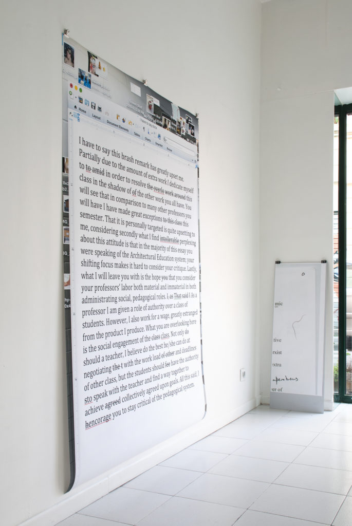 Tim Simonds, Teaching Documents, ╲╱╲╱╲╱╲╱╲╱╲╱╲╱╲,  Rondpoint Projects, Printed Matter