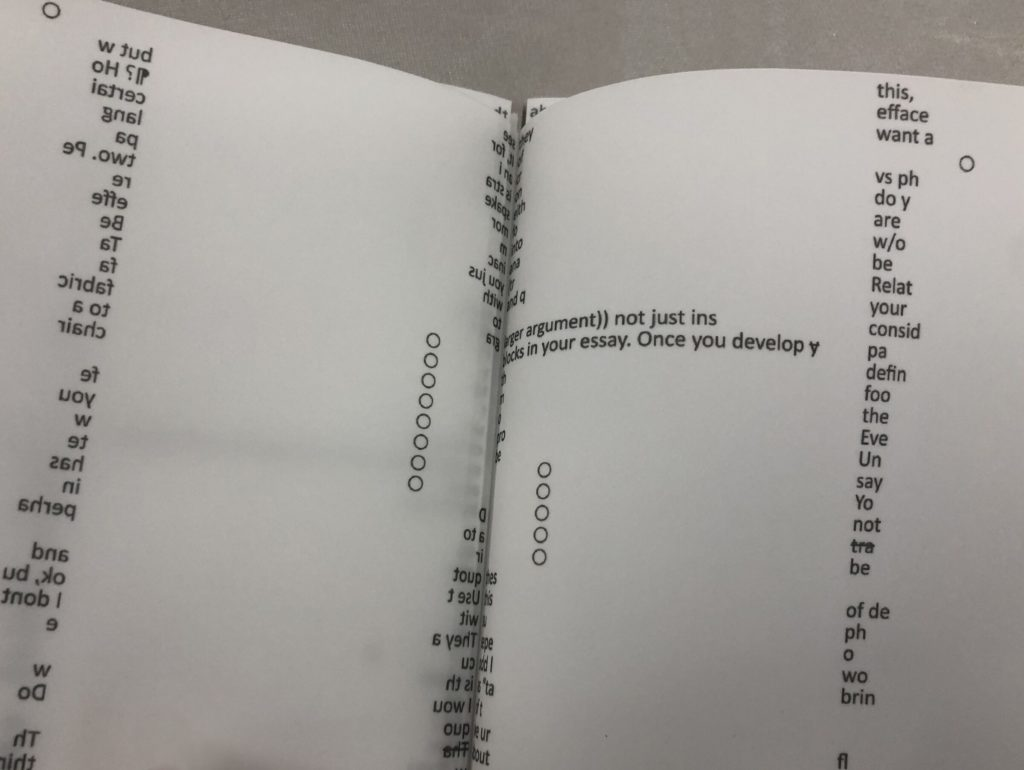 Tim Simonds, Teaching Documents, ╲╱╲╱╲╱╲╱╲╱╲╱╲╱╲, Bella Janssens, book, New York, artist book, Rondpoint Projects, Printed Matter